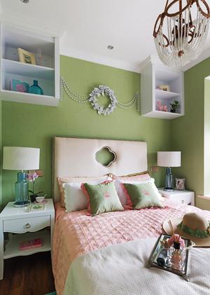 8平米都市清新风格女生卧室装修效果图赏析