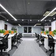 60平米现代简约风格办公室装修效果图赏析