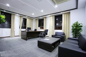 30平米简约风格总经理办公室装修效果图