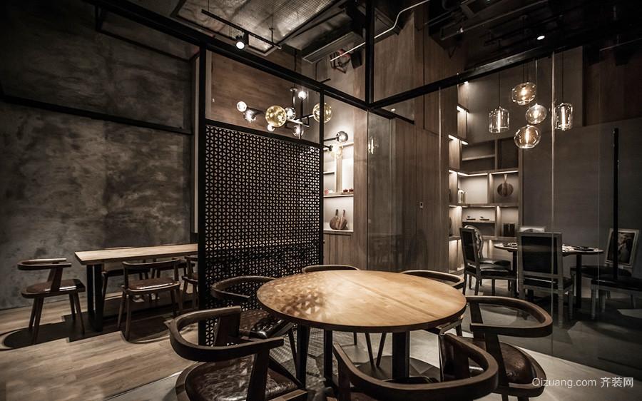 60平米现代风格餐厅设计效果图
