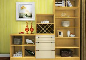 6平米现代简约餐厅餐边柜装修效果图大全