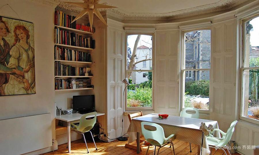 巴洛克风格别墅书房餐厅装修效果图