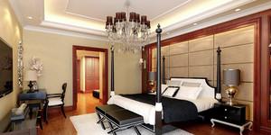 新古典主义风格卧室吊灯装修效果图鉴赏