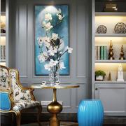 216平米欧式风格别墅时尚混搭书房挂画装修效果图