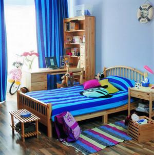 都市简约风格硅藻泥儿童房装修效果图大全