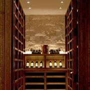 20平米古典欧式风格家庭酒柜装修效果图