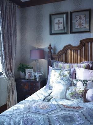 美式田园风格四室两厅室内装修效果图鉴赏