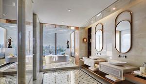 15平米欧式风格奢华混搭卫生间卫浴装修效果图