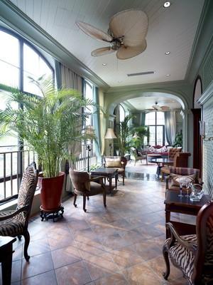379平米古典美式风格别墅室内装修效果图实例