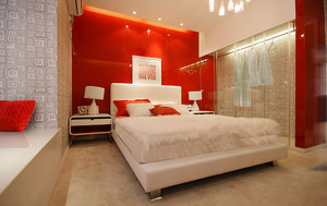 65平米跃层现代简约时尚亮丽公寓装修效果图