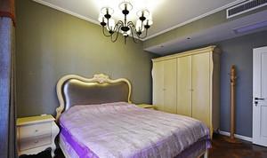 12平米现代简约法式风格女生卧室装修效果图
