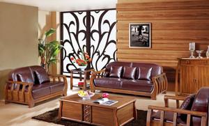 中式风格大户型乌金木家具装修效果图大全