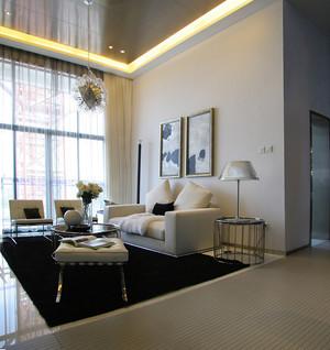 54平米后现代简约风格男生单身公寓装修效果图赏析
