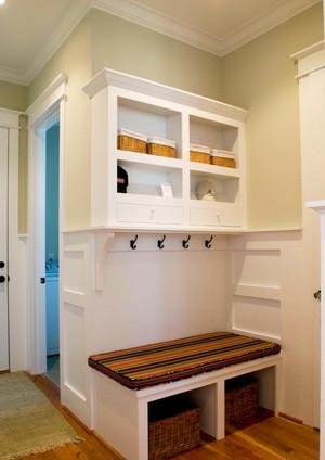 简欧风格两室两厅进门玄关设计装修效果图
