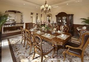 新古典主义欧式风格两层别墅室内装修效果图实例