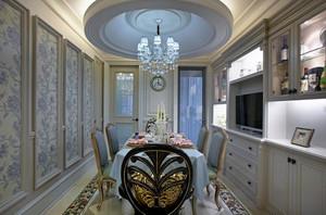 186平米现代简约欧式风格三室两厅室内装修效果图赏析