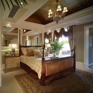 221平米东南亚风格混搭欧式风格别墅室内装修效果图