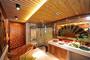 充满异域风情东南亚风格两室两厅一卫装修效果图
