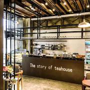 10平米现代风格商场茶吧商铺装修效果图
