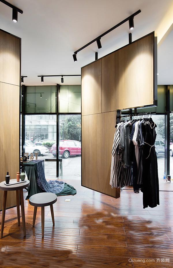 30平米现代简约风格服装店装修效果图