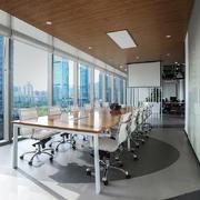 46平米现代简约轻快办公室装修效果图赏析