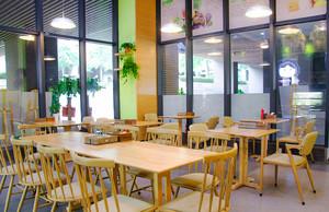 26平米然宜家风格咖啡厅装修效果图