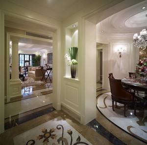欧式风格典雅时尚别墅室内装修效果图赏析