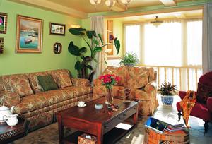 179平米欧式田园风格三室两厅两卫装修效果图赏析