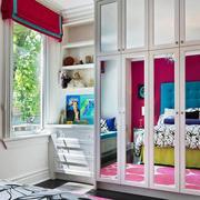 12平米北欧简约风格女生卧室衣柜装修效果图赏析