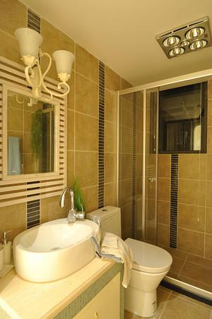 98平米现代简约地中海风格两室两厅一卫装修效果图
