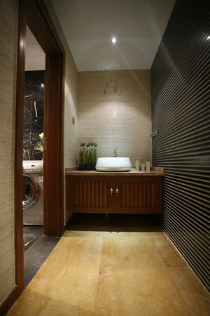 168平米东南亚风格三室两厅两卫装修效果图赏析