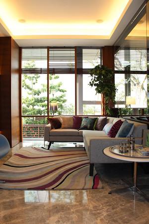 后现代简约风格别墅室内装修效果图