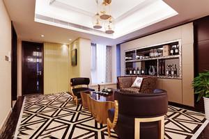 后现代风格大户型餐厅酒柜装修效果图赏析