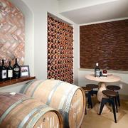 15平米欧式风格别墅酒柜装修效果图