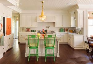 30平米欧式风格别墅厨房装修效果图