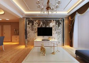 现代简约风格大户型客厅石材板吊顶装修效果图大全