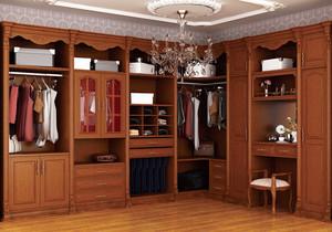 中式风格实木衣柜设计效果图大全