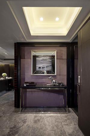 136平米后现代奢华风格男生单身公寓装修效果图