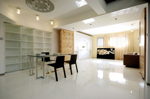 126平米现代简约风格跃层室内装修效果图赏析