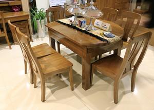 中式风格大户型室内橡木家具装修效果图赏析