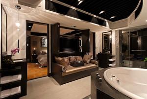 96平米现代中式风格精致公寓装修效果图鉴赏