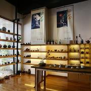 26平米中式简约风格商铺茶馆装修效果图