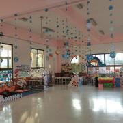 80平米都市轻快风格幼儿园教室装修效果图赏析