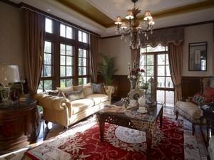 216平米古典欧式风格两层别墅装修效果图赏析