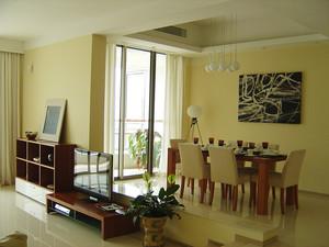 韩式简约风格三室一厅装修效果图赏析