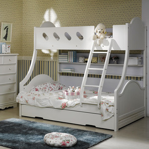 8平米简约风格儿童房床装修效果图大全