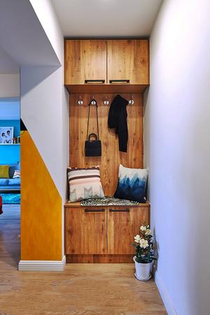 后现代混搭风格进门玄关鞋柜装修效果图赏析