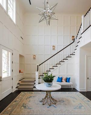 236平米简欧风格两层别墅楼梯装修效果图赏析