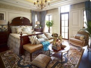 300平米古典美式风格室内别墅装修效果图赏析