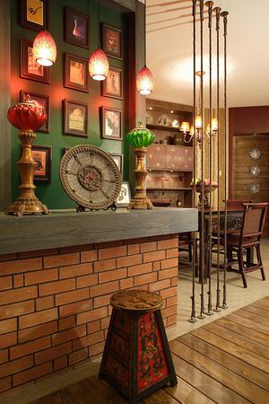 东南亚风格时尚混搭一室一厅一卫装修效果图赏析